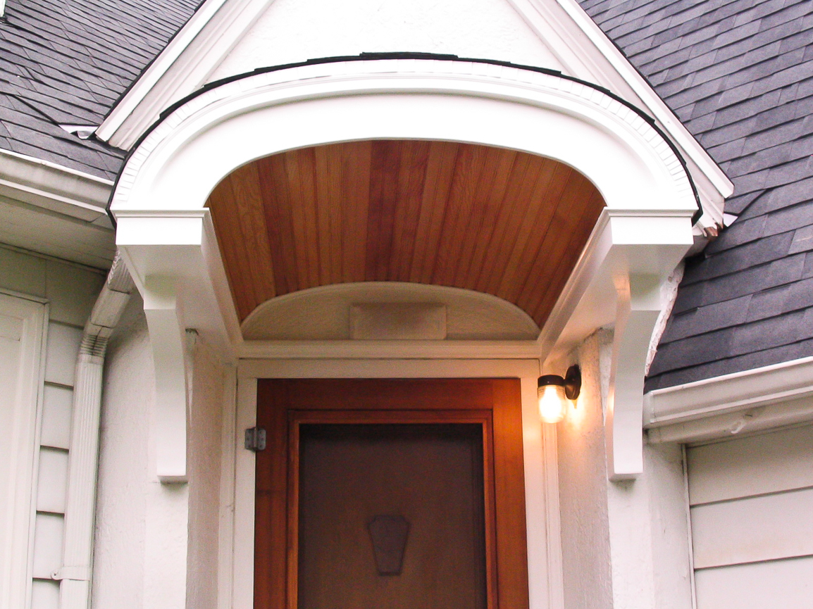 Arched Entry Roof