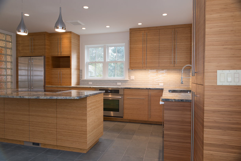 Contemporary Bamboo Kitchen