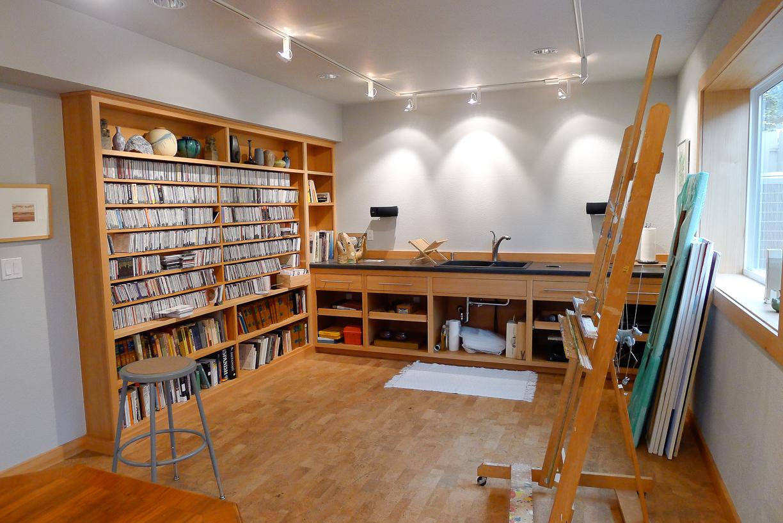 Daylight Basement Art Studio