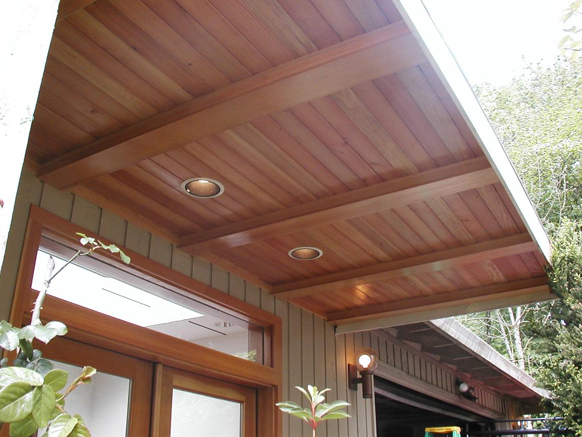 Fir Entry Roof