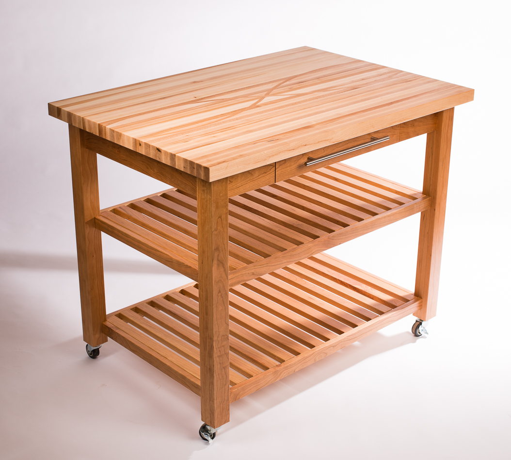 Maple and Cherry Baking Table