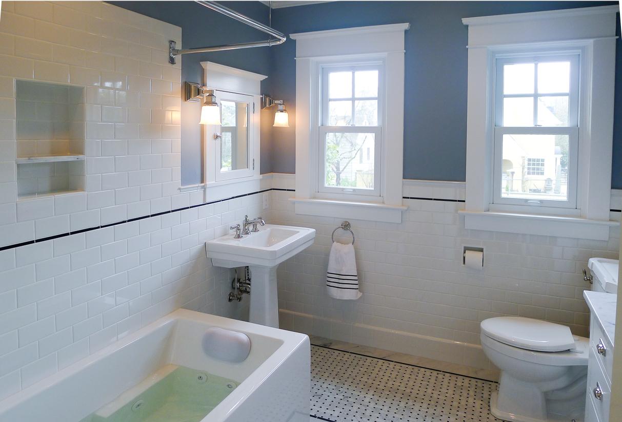 Irvington Spa Tub Bathroom