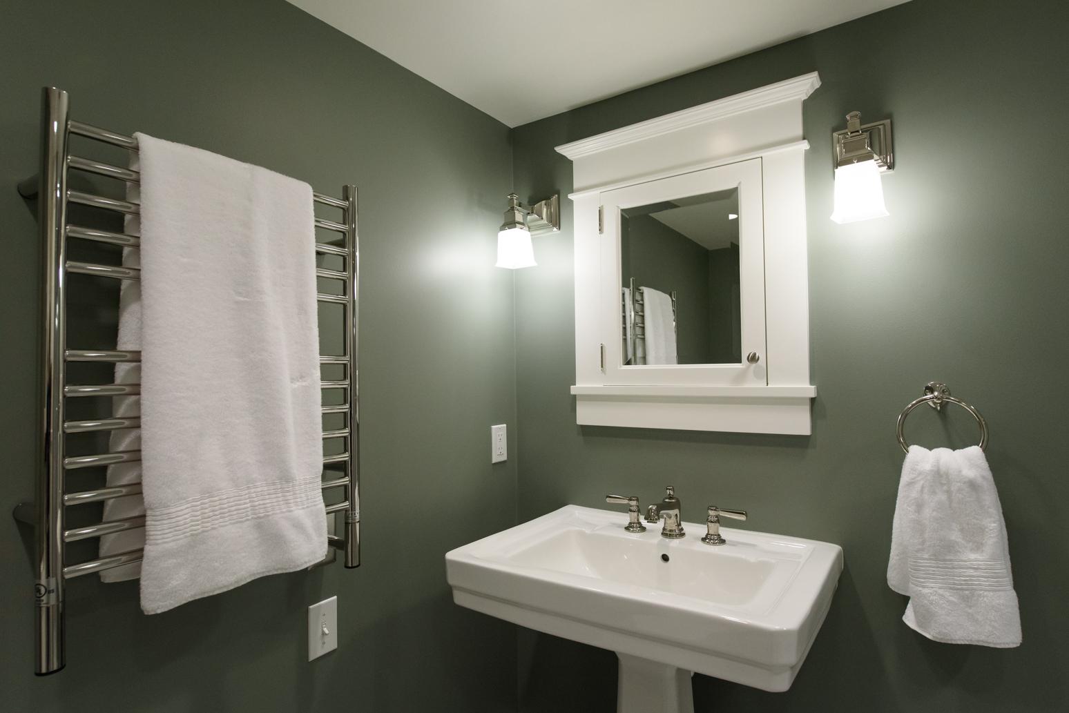 Irvington Basement Bathroom